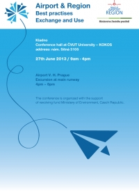 Conference Airport & Region,27th June 2013 - info